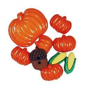 Набор пуговиц  Autumn от Favorite Findings