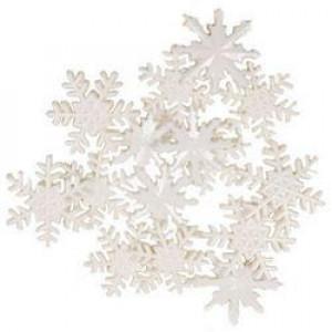 Набор пуговиц  Let it snow от Favorite Findings