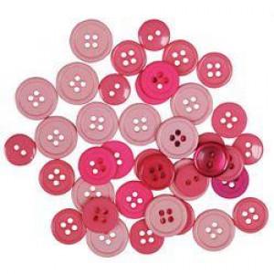 Набор пуговиц Pink от Favorite Findings
