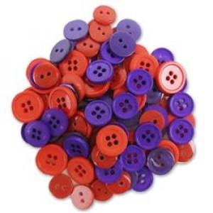 Набор пуговиц Red&Purple от Favorite Findings