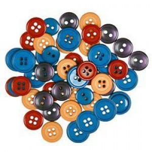Набор круглых пуговиц Fiesta от Favorite Findings