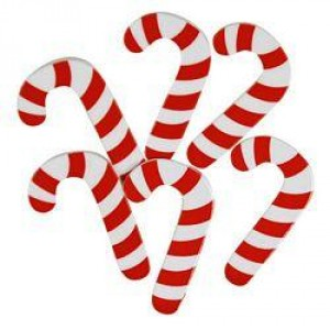 Набор пуговиц  Big Candy Canes от Favorite Findings