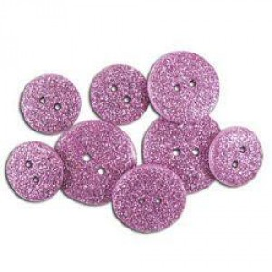 Набор пуговиц Glitter Rosy от Favorite Findings