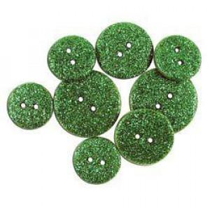 Набор пуговиц Glitter Fern от Favorite Findings