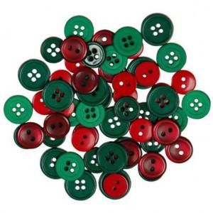 Набор пуговиц Red&Green от Favorite Findings