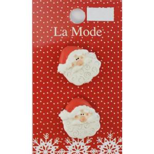 Набор пуговиц Санта La Mode Cristmas от Blumenthal Lansing