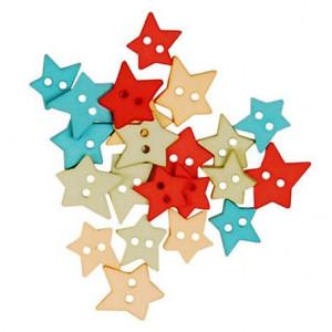 Набор пуговиц Citrus Stars  от Favorite Findings