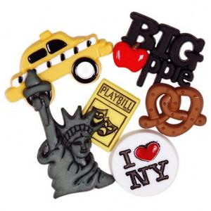 Набор пуговиц New York от Favorite Findings
