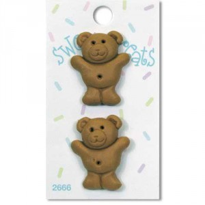Пуговица Teddy Bear Cookie от Sweet Treats