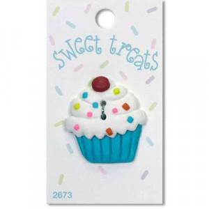 Пуговица White Cupcake от Sweet Treats