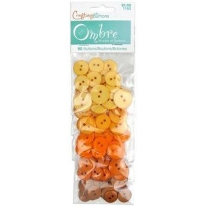 Набор пуговиц Orange от Ombre