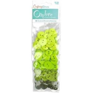 Набор пуговиц Lime Green от Ombre