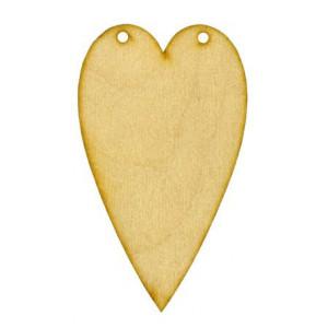 Заготовка для декупажа Сердце Тильда от Woodbox