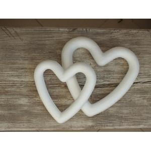 Сердце из пенопласта 15 см