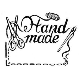 Штамп резиновый на деревянной основе Handmade от Stamperia