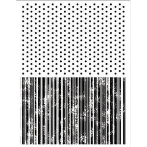 Набор силиконовых штампов Точки и линии от Stamperia
