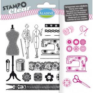 Набор силиконовых штампов Couture от AladinE