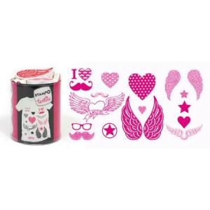 Набор штампов по текстилю Love&Chic от AladinE