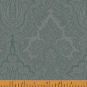Ткань WHARTON Paisley Slate Blue, Windham Fabrics