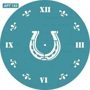 Трафарет Часы 2 (143)