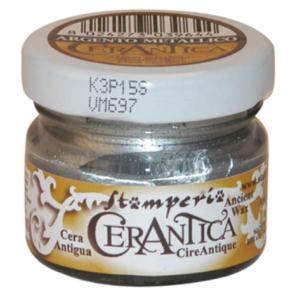 Воск CERANTICA Argento Metallico Stamperia