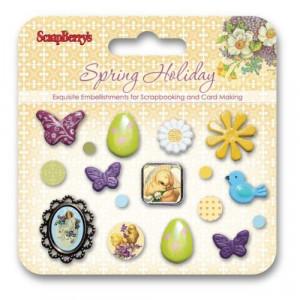 Набор декоративных брадс, Весенний праздник