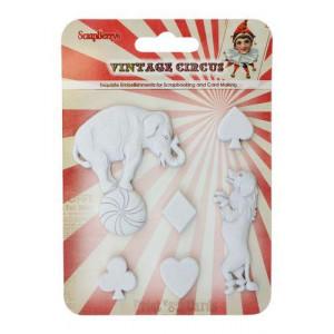 Набор полимерных фигурок Старый цирк. Представление от ScrapBerry's