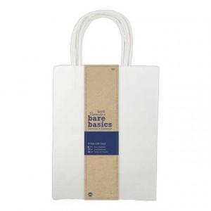 Бумажные пакеты цвет белый размером 20 * 26 см от Docrafts