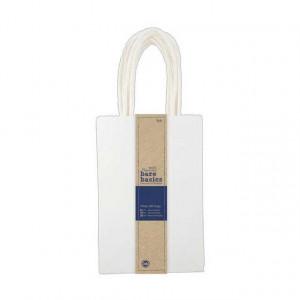 Бумажные пакеты цвет белый размером 12 * 18 см от Docrafts