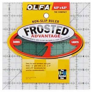 "Линейка для пэчворка Frosted 6""х6"" OLFA"