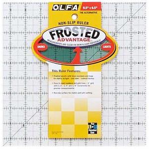 "Линейка для пэчворка Frosted 9""х9"" OLFA"