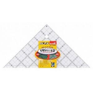 """Линейка-треугольник для пэчворка Frosted 6"""" OLFA"""