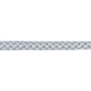 Шнур хлопковый плетёный серый, 5.3 мм PEGA