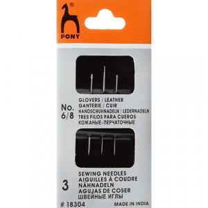 Иглы для кожи N6-8 3шт/упаковка