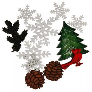 Набор пуговиц Snowy Woods от Favorite Findings