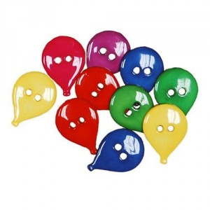 Набор пуговиц  Balloons от Favorite Findings