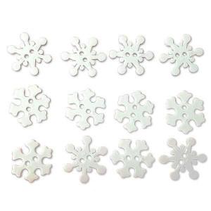 Набор пуговиц  Tiny Snowflakes от Dress It Up