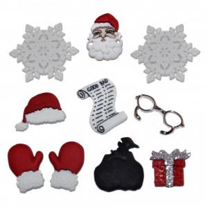 Набор пуговиц Waiting For Santa от Dress It Up