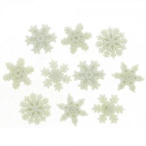 Набор пуговиц Glitter Snowflakes от Dress It Up