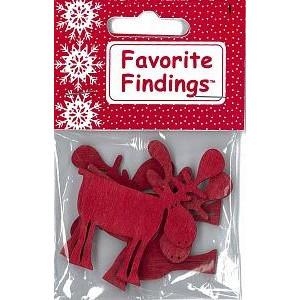 Набор пуговиц  Merry Moose от Favorite Findings