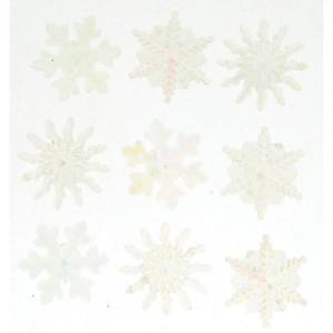 Набор пуговиц Crystal Snowflakes  от Dress It Up