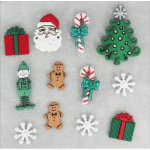 Набор пуговиц Christmas от Dress It Up