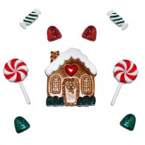 Набор пуговиц Candy Cottage от Dress It Up