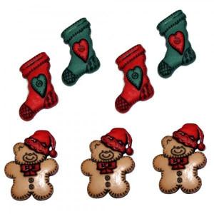 Набор пуговиц Stockings&Bears от Dress It Up