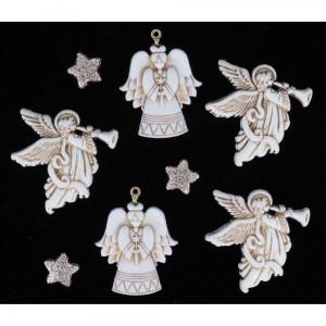 Набор пуговиц Glitter Angels от Dress It Up