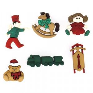 Набор пуговиц Christmas Toys от Dress It Up