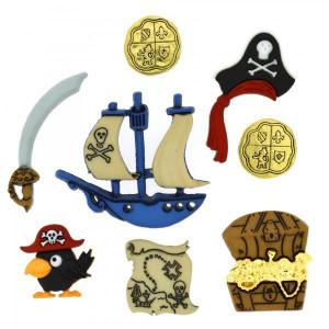Набор пуговиц  Pirates от Dress It Up