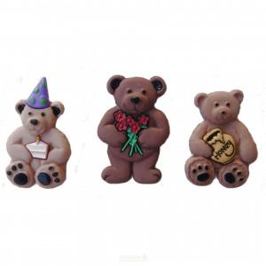 Набор пуговиц Bunches Of Bears от Dress It Up