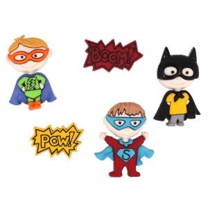 Набор пуговиц Be My Super Hero от Dress It Up