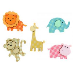 Набор пуговиц Baby Safari от Dress It Up